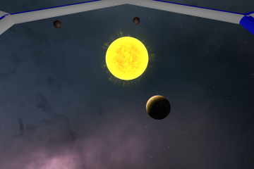 Planets orbiting a star